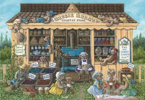 Bessy Bears Country Store Jigsaw Puzzle, 260-Piece