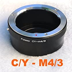 Fotasy AMCY C/Y Contax/Yashica Lens to Micro Four Thirds M43 MFT System Camera Mount Adapter