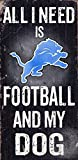 Fan Creations N0640 Detroit Lions Football And My Dog Sign