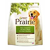 Nature's Variety Dry Dog Food, Diet Prairie Canine New Zealand Venison Meal and Millet, 15-Pound Bag