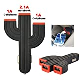 No1accessory CZ-USB0101 Heavy Duty three USB 4.2A in Car Charger for Samsung Galaxy ATIV Tab 3 8 Inch WiFi Tablet - 16GB & Bush MyTablet 7 inch Tablet &Prestigio MultiPad 8.0 HD Duo Tablet &Prestigio MultiPad 7.0 Ultra Plus 7 Inch Table
