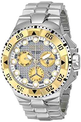 Invicta Men's 15981 Excursion Analog Display Swiss Quartz Silver Watch