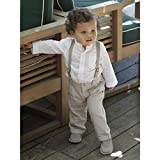 Baby boy's shirt & trousers outfit