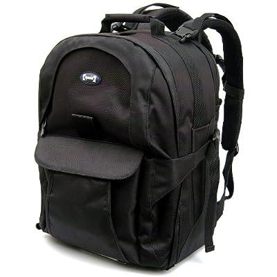 Opteka CS-300B Digital SLR Full Camera System Cyber Backpack (Black)