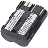 Fosmon 2 Pack Canon BP-511 2000mAh 7.4V High Capacity Replacement Digitial Camera Li-Ion Battery for Canon EOS 50D / 20D / 300D / 30D / 40D / 5D / D30 / D60 / Kiss Digital - Fosmon Retail Packaging