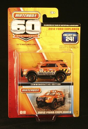 2013 Matchbox 60th Anniversary Commemorative Edition 2012 Ford Explorer #08/24 - 1