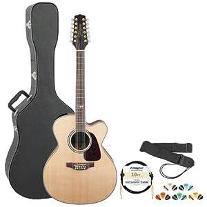 takamine gj72ce 12nat jumbo cutaway 12 string acoustic electric guitar w chromacast. Black Bedroom Furniture Sets. Home Design Ideas