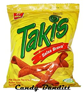 Takis Salsa Brava Hot Sauce By Barcel 4 Oz (Pack of 4)