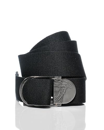 Versace Collection Cinturón Immanuel Negro