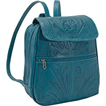 Ropin West Backpack Handbag (Turquoise)