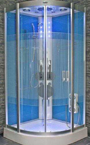 acquavapore dtp8046 1110 dusche duschtempel komplett. Black Bedroom Furniture Sets. Home Design Ideas