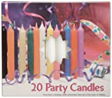 Biedermann & Sons Chime or Tree Candles 20-Count Box, White