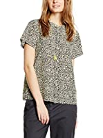 Maison Scotch Camiseta Manga Corta (Leopardo)