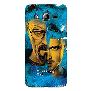ColourCrust Samsung Galaxy J3 (2016) Mobile Phone Back Cover With Breaking Bad - Durable Matte Finish Hard Plastic Slim Case