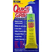 Beacon Quick Grip All-Purpose Permanent Adhesive, 2-Ounce