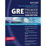 Kaplan GRE Exam 2008 Premier Program ~ Kaplan