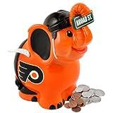 NHL Philadelphia Flyers Thematic Elephant Piggy Bank