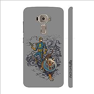 Enthopia Designer Hardshell Case Super Tiger Back Cover for Asus Zenfone 3 ZE520KL