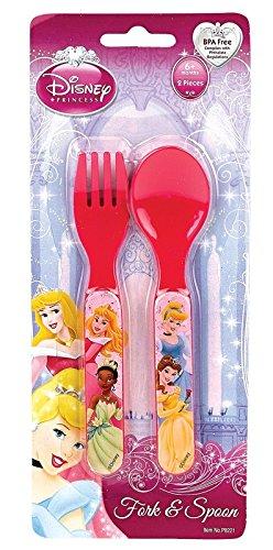 Princesses Fork & Spoon Set - 1