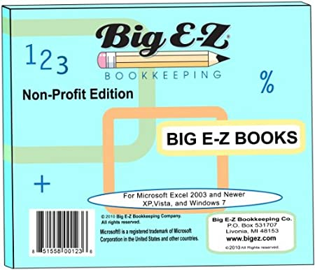 Big E-Z Books - Non-Profit Edition 2010