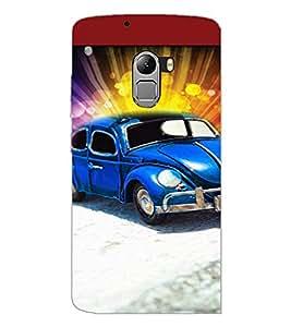 PrintDhaba Car D-5959 Back Case Cover for LENOVO K4 NOTE A7010 (Multi-Coloured)