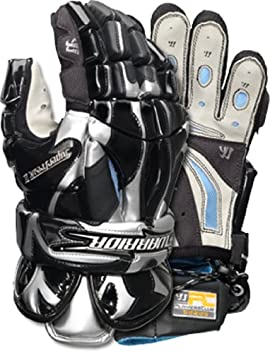 Warrior SF21 Superfreak 2 Men's Lacrosse Goalie Gloves (Black)