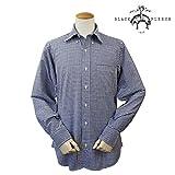 (ブラックフリース)BLACK FLEECE シャツ 長袖 BB1 NAVY/WHITE (並行輸入品)