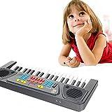Kingtoys Electric Piano 37-key Keyboard Digital Piano Mini Keyboard Electronic Piano Portable Keyboard Kids Piano with Microphone Piano Shop Kids Gift Kids Toys