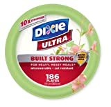 Dixie Ultra Paper Plates, 10  1/16 Inches, 200 Count