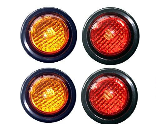 2 Amber 2 Red LED 2