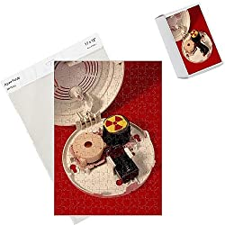 Photo Jigsaw Puzzle of Smoke alarm components from Science Photo Library by Science Photo Library