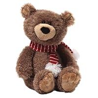 "Gund Fun Christmas Snuffy Snuggle Bottoms Bear Small 12"" Plush from Gund Fun"