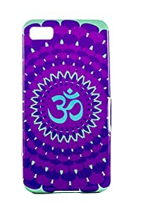 Purple Eyes Exclusive Printed TPU Silicon Back case Blackberry Z10 Om Purple