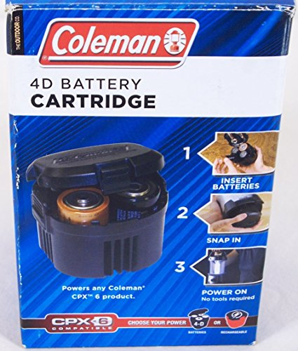 Coleman 4D Battery Cartridge- CPX6 Compatible (Coleman Powerpack compare prices)