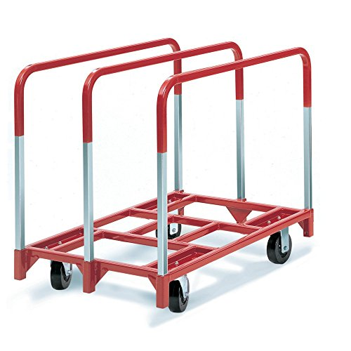 Raymond Products Panel Mover with 2 Fixed and 2 Swivel 6 in. Phenolic Casters 3 Standard Uprights from Raymond Products