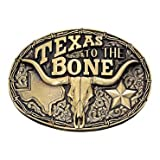 Texas To the Bone Attitude Belt Buckle