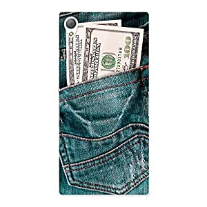 Ajay Enterprises The Money Jeans Back Case Cover for Sony Xperia Z3