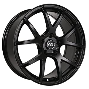 17×7.5 Enkei M52 (Matte Black) Wheels/Rims 5×114.3 (480-775-6550BK)