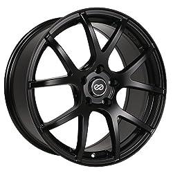 17×7.5 Enkei M52 (Matte Black) Wheels/Rims 5×114.3 (480-775-6550BK)