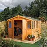 Rowlinsons Workshop Range 9x9 Shed