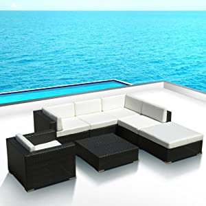 Outdoor Patio PE Resin Wicker Furniture All