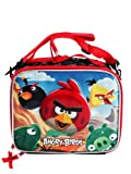 Lunch Bag - Angry Birds - Group Red Strap