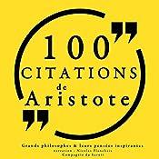 100 citations d'Aristote |  Aristote