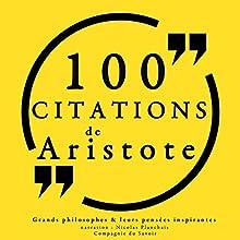 Philosophie pour tous : 100 citations d'Aristote | Livre audio Auteur(s) :  Aristote Narrateur(s) : Nicolas Planchais