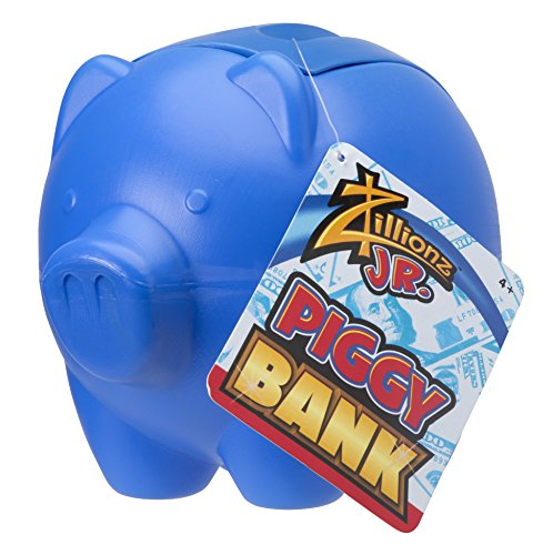Zillionz Jr. Classic Piggy Bank Assorted Colors