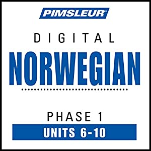 Norwegian Phase 1, Unit 06-10 Hörbuch