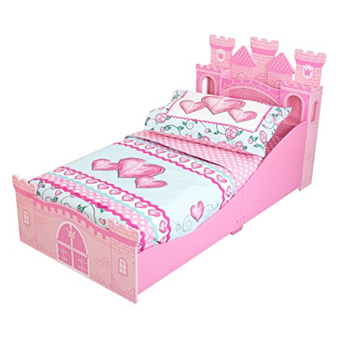 KidKraft Toddler Princess Sweetheart Bedding - 1