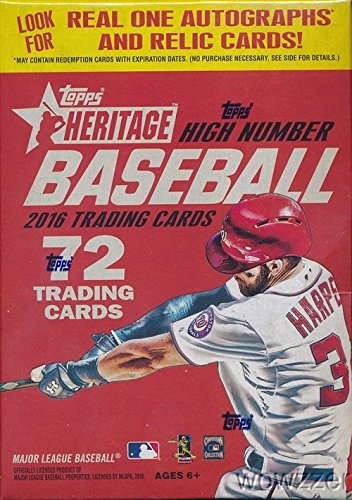 2016-topps-heritage-high-number-exclusive-mlb-baseball-factory-sealed-retail-box-with-72-cards-look-