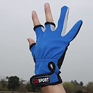 Professional Fishing Anti-Slip Gloves by INHDBOX
