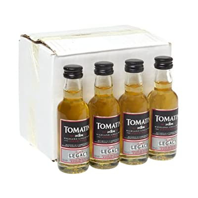 Tomatin Legacy Single Malt Scotch Whisky 5cl Miniature - 12 Pack from Tomatin
